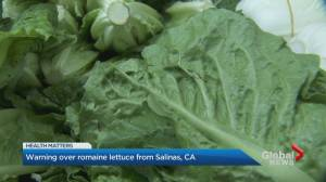 Canadians urged to avoid romaine lettuce from Salinas, California