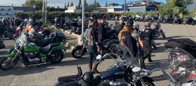 11th annual Ride for Recovery motorcycle rally rolls through Calgary