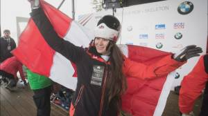 North Van's Jane Channell returns to Skeleton World Cup circuit (01:58)