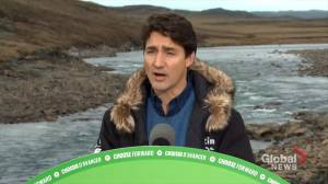 Federal Election 2019: Trudeau says he was 'happy' English federal leaders debate brought much talk about environment