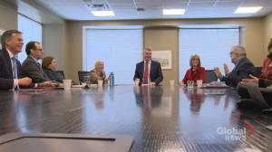N.S. premier officially met with newly formed forestry transition team