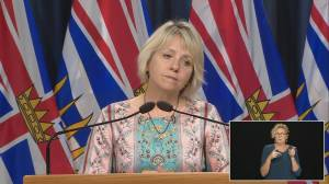 Are B.C. health officials concerned about the rising number of COVID-19 patients in hospital?
