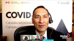 Federal government looking at electronic proof of vaccination says one of Canada's top doctors (03:14)