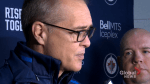 Winnipeg Jets Head Coach Paul Maurice on the possible retirement of Dustin Byfuglien