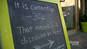 Calgary businesses get creative during cold snap