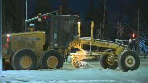 Seasonal parking ban in effect as Edmonton emerges from deep freeze, dump of snow