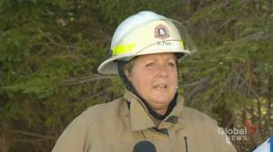Fire in Porters Lake, N.S. not yet 'under control,' no homes impacted