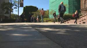 Vaccine policy in place for U of T students returning to campus (02:01)