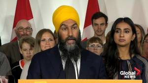 2019 Federal Election: Singh says he's 'faced hurdles,' wants to build country without barriers