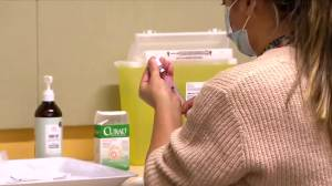 Some Alberta doctors will start administering COVID-19 immunizations in April (01:31)