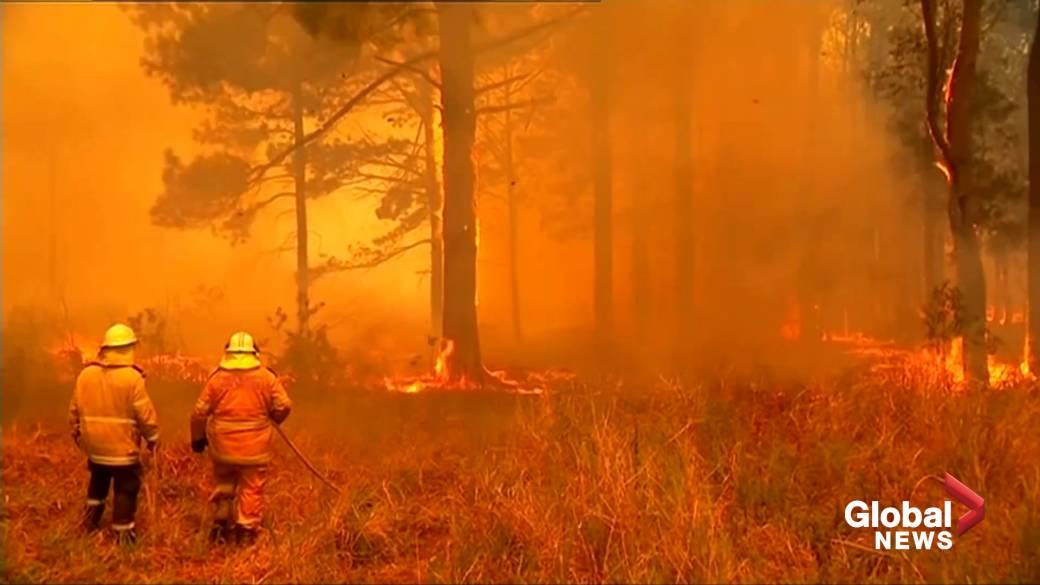 Hot, dry and dangerous: Australia's 'catastrophic' bushfires creep toward Sydney