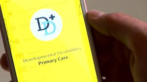 An app to help care for adults with disabilities (02:17)
