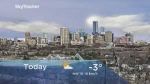 Edmonton early morning weather forecast: Monday, February 24, 2020