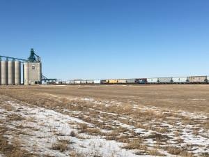 Rail blockades cause concern for Alberta grain farmer