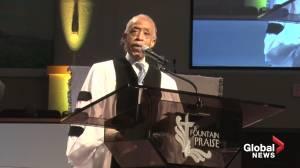 George Floyd funeral: Reverend Al Sharpton delivers powerful eulogy for Floyd
