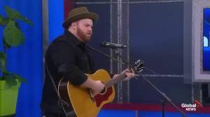 Musician Dave Sampson Performs Live