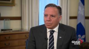 Exclusive Interview: Quebec Premier sits down to talk about his relationship with Anglophones