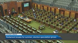 Election speculation grows as Parliament begins two month hiatus (06:09)