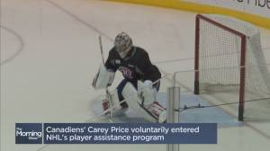 How Carey Price is paving the way for other athletes (04:48)