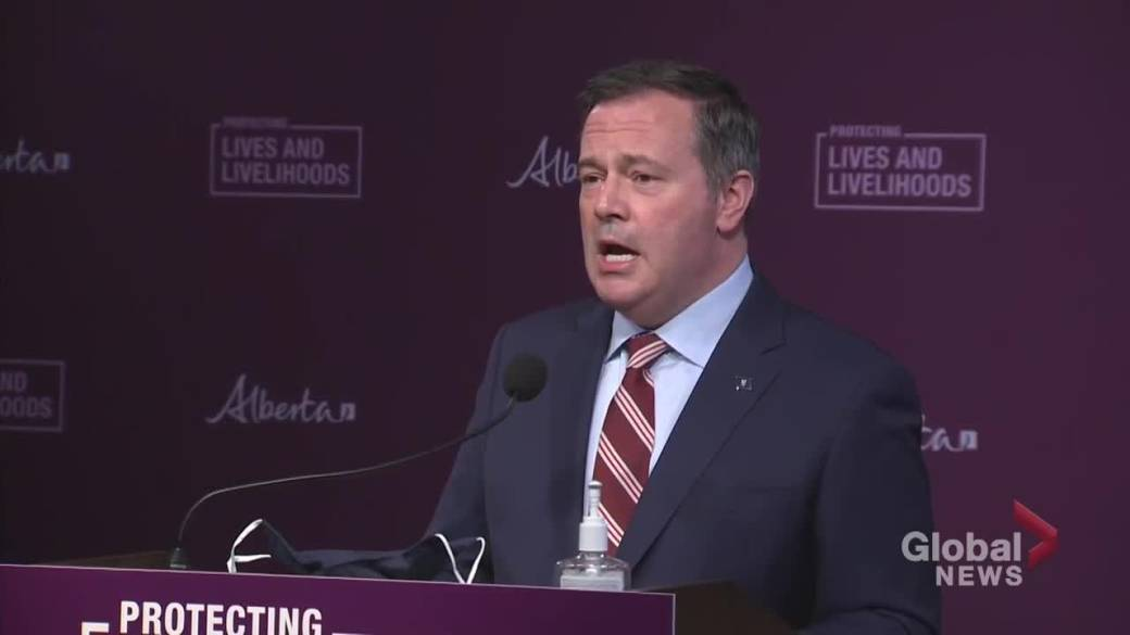 Click to play video: 'COVID-19: Kenney 'angered' by No More Lockdown Rodeo Rally on weekend'
