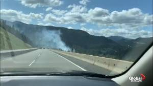 Wildfire beside Coquihalla called frightening by travelers