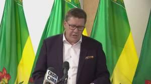 Saskatchewan premier defends decisions behind proof of vaccine policy (02:31)