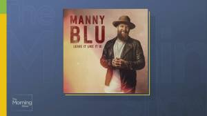 Country artist Manny Blu performs 'Leave It Like It Is'