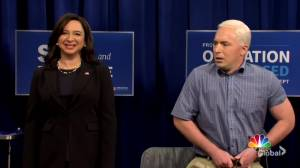 Mike Pence gets COVID-19 vaccine on SNL (06:25)