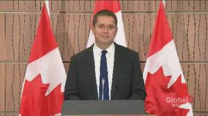 Scheer 'very troubled' by arrest video of Chief Allan Adam, refuses to further comment (01:16)