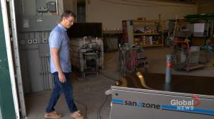 Saskatchewan company creates coronavirus decontamination unit using ozone gas