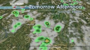 Kelowna Weather Forecast: August 2 (03:00)