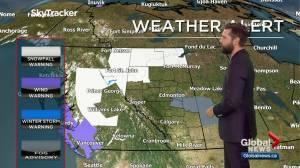 Edmonton weather forecast: Monday, November 16, 2020 (03:44)