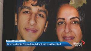 Grieving Mississauga family fears alleged drunk driver will get bail (02:02)