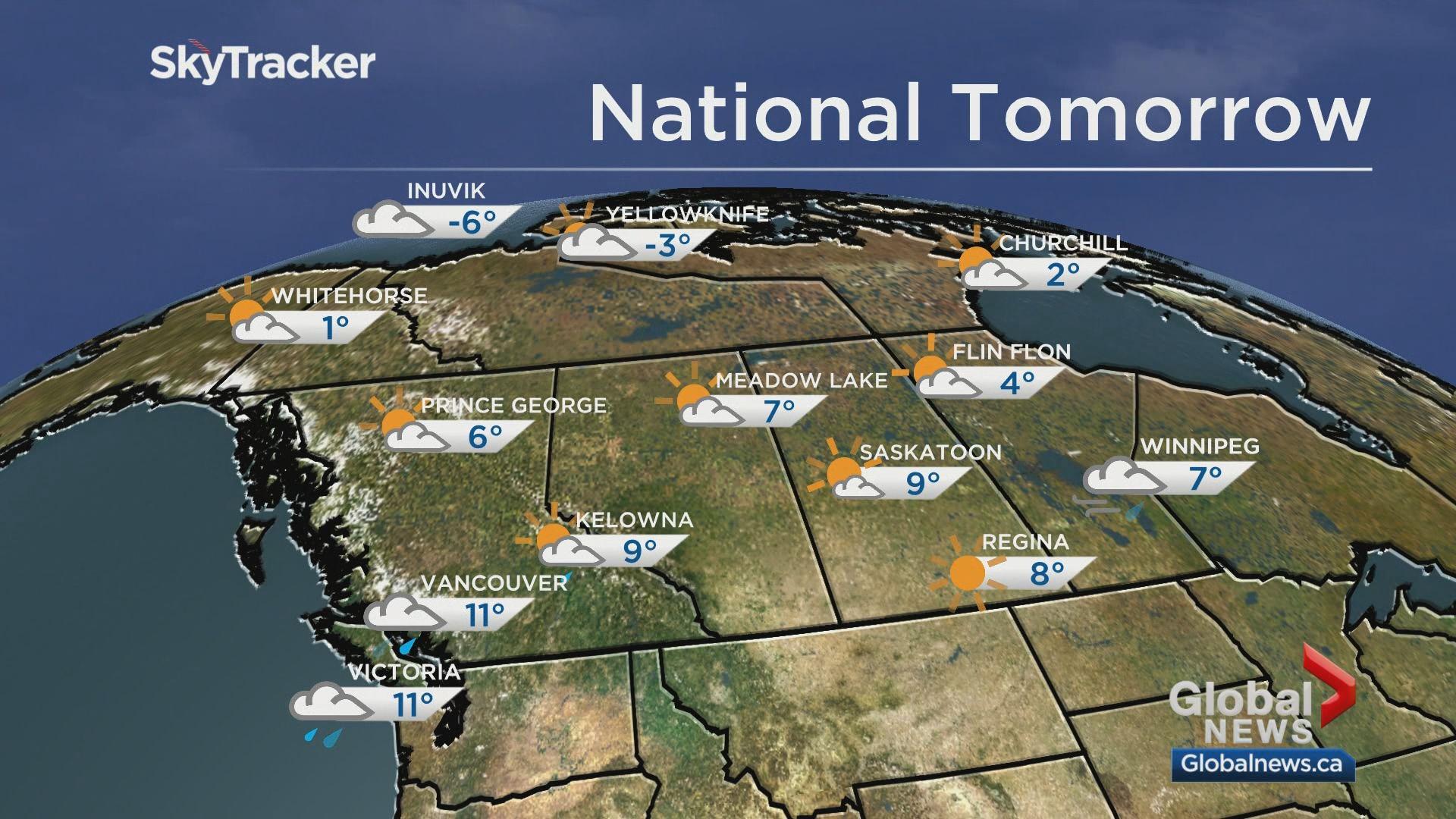 Edmonton weather forecast: Sunday, Oct. 20