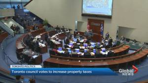 Toronto city council votes in favour of raising taxes to cover city levy