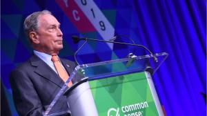 Michael Bloomberg opens door to 2020 presidential run (00:29)
