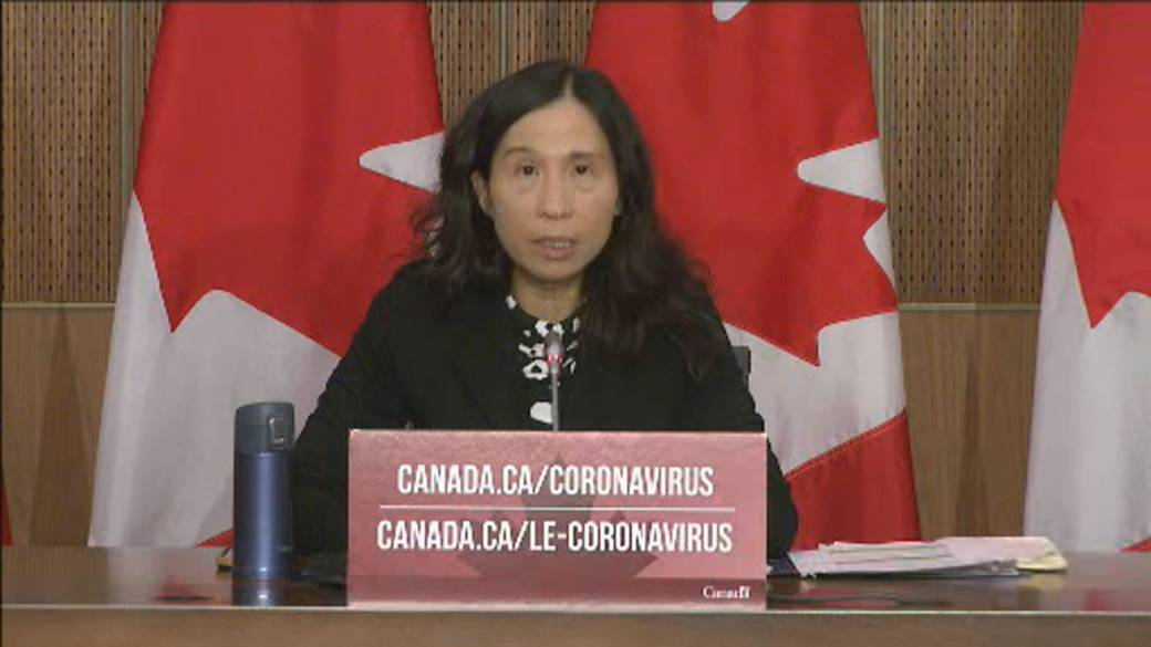 Click to play video 'Coronavirus: Canada's top doctor welcomes vaccine supply announcement, stresses following public health measures'