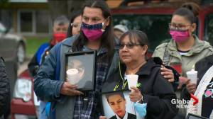 Family encourages forgiveness at Kionna Nicotine vigil in Saskatoon