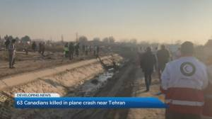 63 Canadians among the dead after plane crashes during take-off in Iran