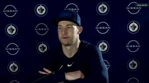 RAW: Winnipeg Jets Trevor Lewis Interview – Apr. 8 (02:30)