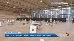 Toronto's mass vaccination pilot to end weeks early due to COVID-19 vaccine shortage (01:56)