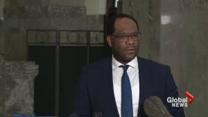 Alberta justice minister responds to allegations made about members of Lethbridge Police Service (02:27)