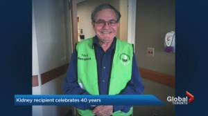 Toronto kidney recipient celebrates 40 year anniversary