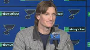 St. Louis Blues' Jay Bouwmeester calls cardiac episode 'surreal experience'