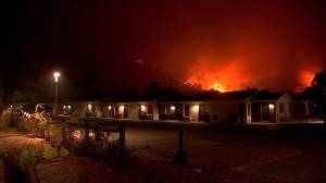 California wildfires: Thousands evacuated as Glass Fire incinerates over 100 homes