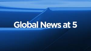 Global News at 5 Edmonton: December 28 (08:56)