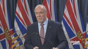 Premier John Horgan says provincial and federal governments will work together on coronavirus