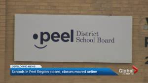 COVID-19: Schools in Peel Region shut down for 2 weeks (02:55)
