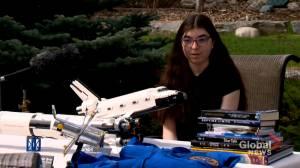 'I want to go to Mars:' COVID-19 doesn't ground Calgary teen's astronaut dreams (01:49)