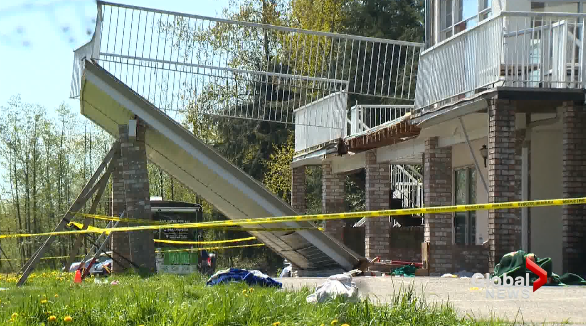 Lawsuits filed by victims of Langley deck collapse